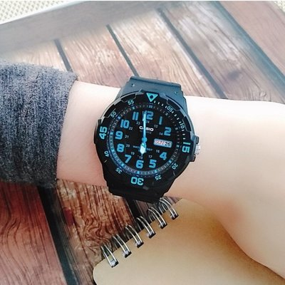 CASIO卡西歐手錶 酷炫 潛水風百米防水指針錶  台灣卡西歐保固卡現貨 學生當兵 班族↘超低價MRW-200H-2B