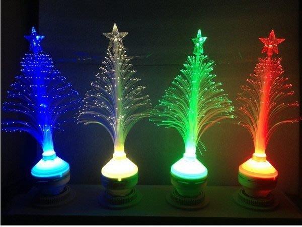 新款創意 LED聖誕樹光纖燈 聖誕節禮物 LED發光燈/舞會/酒吧/夜店/餐廳擺飾超炫可當小夜燈氣氛燈