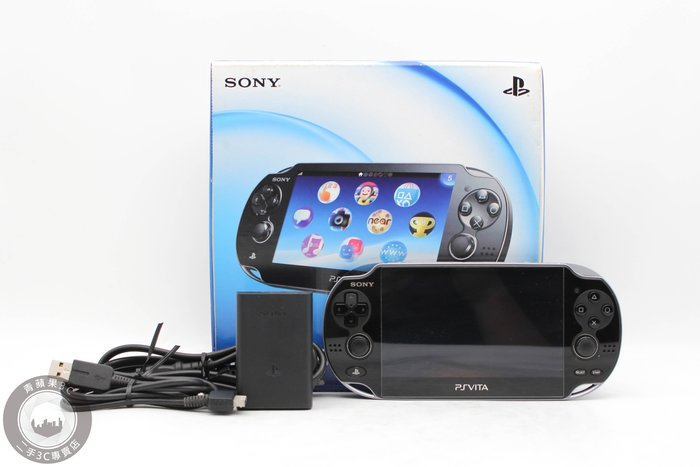 【台南橙市3C】SONY PSVITA PCH-1107 3G+WiFi 晶瑩黑 3.73版 二手遊戲機 #48801