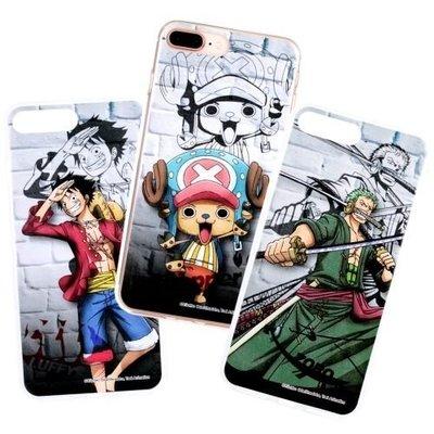 海賊王正版授權透明軟殼 城牆系列 4.7吋 iPhone 7/8 i7/i8 航海王 手機套/手機殼/保護套/保護殼