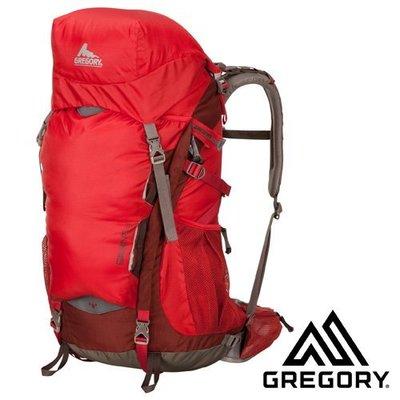 大里RV城市【美國 GREGORY~送】Savant 38 男款專業輕量級健行登山背包(M號)自助旅行背包 59173