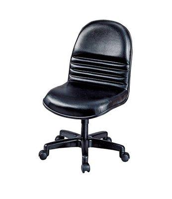 【浪漫滿屋家具】(Gp)605-6 辦公椅(黑皮)