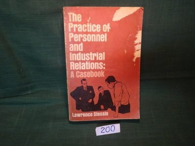 【愛悅二手書坊 12-46】The Practice of Personnel and Industrial Relations