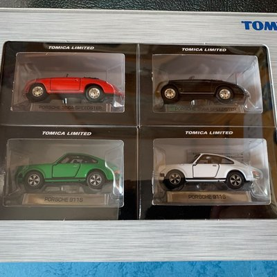 Tomica limited porsche boxset 365/911s