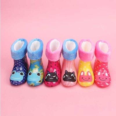 5Cgo【鴿樓】會員有優惠 522723658885 兒童雨鞋男童女童時尚學生韓國雨靴卡通萌物小孩防滑寶寶水鞋