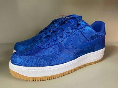 Nike Air Force 1 Clot 絲綢 Royal 藍  冠希 off jordan YEEZY