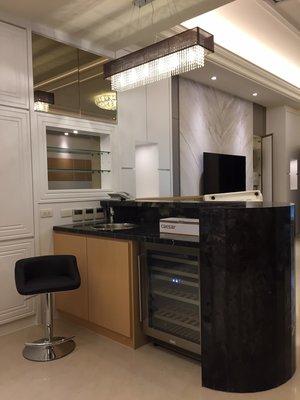 台中室內設計-現代輕奢電梯別墅-獨立森林別墅