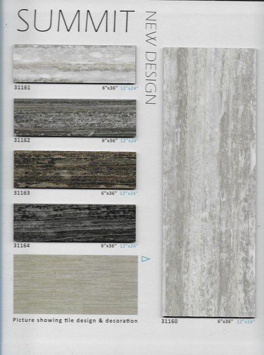 SUMMIT系列~長條木紋塑膠地板連工帶料3.0mm$1400元起~時尚塑膠地板賴桑~新發售)