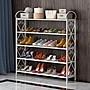 新品- 簡易鞋架家用經濟型宿舍防塵鞋柜省空間...