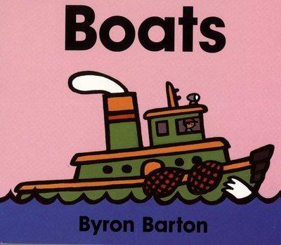 *小貝比的家*BOATS/硬頁書/0~2歲/交通工具