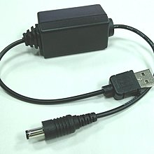 最大3A輸入,5V升12V, 升壓模組升壓器~5V行動電源露營燈USB A公轉 5.5*2.1公 分享器路由器電源
