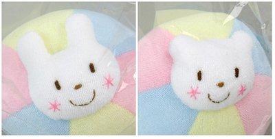 尼德斯Nydus~* 嚴選日本製 嬰兒/Baby用品 兔兔 熊熊 玩具球 棉質 約10cm