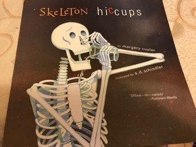 全新大英文繪本 Skeleton hiccups Book by Margery Cuyler 大587