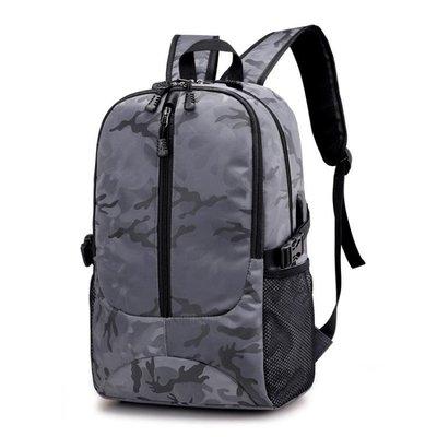 戶外迷彩雙肩包 附電腦夾層 筆電包FL1802