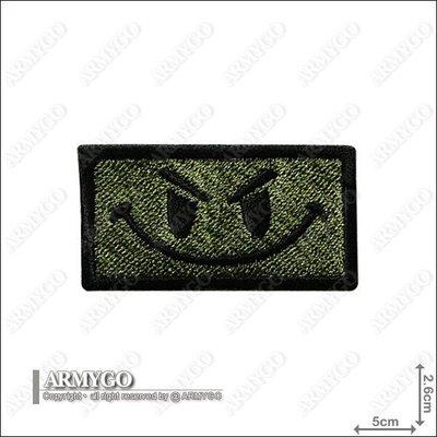【ARMYGO】美軍 微笑勇士 繡章 (綠色款)