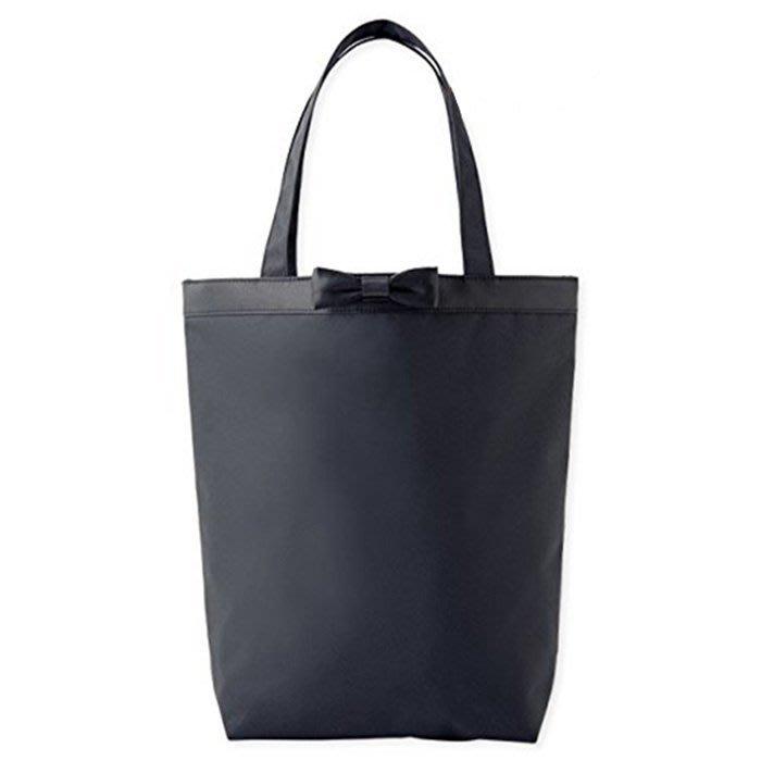 [瑞絲小舖]~日雜附錄IENA LA BOUCLE黑色蝴蝶結托特包 單肩包 肩背包 側背包 手提包 購物包