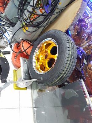 TOYOTA 15吋鋁圈 195/65/15 日本全新安靜胎 205/65/15 米其林 落地胎 Prius PHV