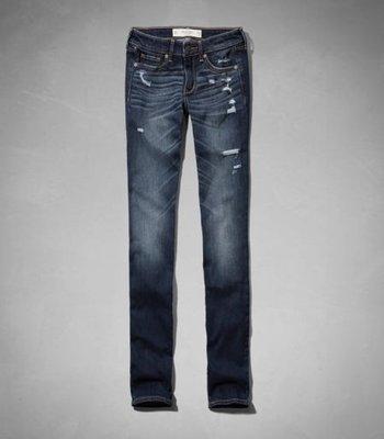 AF Abercrombie & Fitch SLOAN skinny jeans 經典仿舊 牛仔褲 直筒 現貨