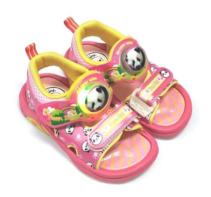 【菲瑪】圓仔 電燈涼鞋 粉紅PDKS46703 出清