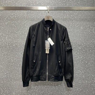 Rick Ro Ds Drkshd 副線 MA-1空軍飛行夾克外套 純黑色經典款