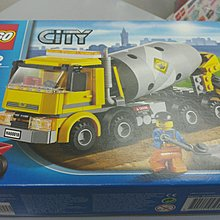 全新 Lego City 60018 Cement Mixer