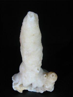 [銀九藝] 玉雕 石雕  天然完整 鐘乳石 一柱擎天 擺飾 擺件