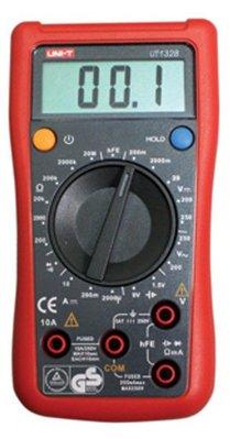TECPEL 泰菱 》UNI-T 優利德 UT 132B 三用電錶 電表 電阻 電池 貼片元件 UT-132B