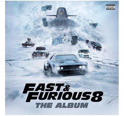 合友唱片 面交 自取 玩命關頭8 THE FAST & FURIOUS 8 / 電影原聲帶 O.S.T CD