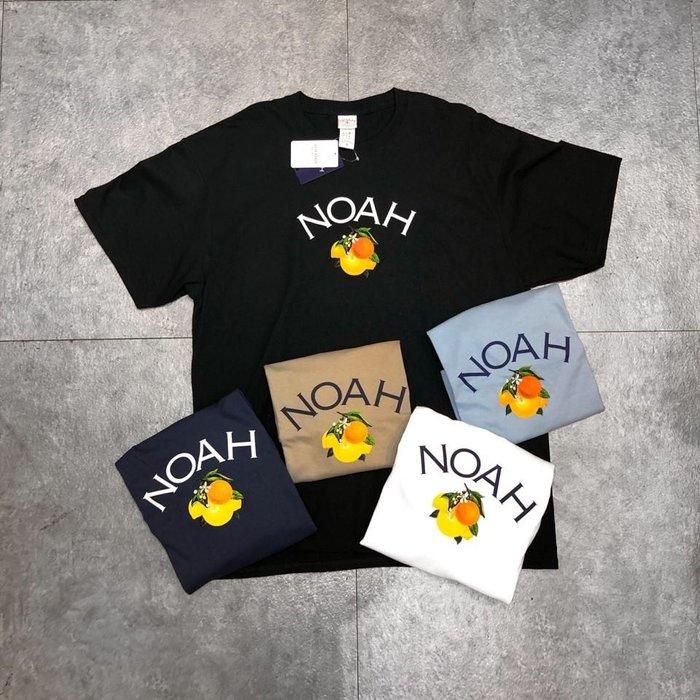 【Faithful】NOAH Citrus Core Logo Tee【T13SS20】短T 柑橘 四色 20SS