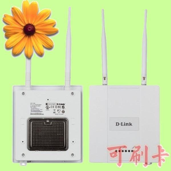 5Cgo【權宇】D-Link DAP-2360 企業等級802.11n PoE 無線網路基地台寬頻路由器 全新品 含稅