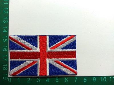 熨燙貼布,刺繡貼布,英國,United Kingdom,Great Britain,國旗,NO:143