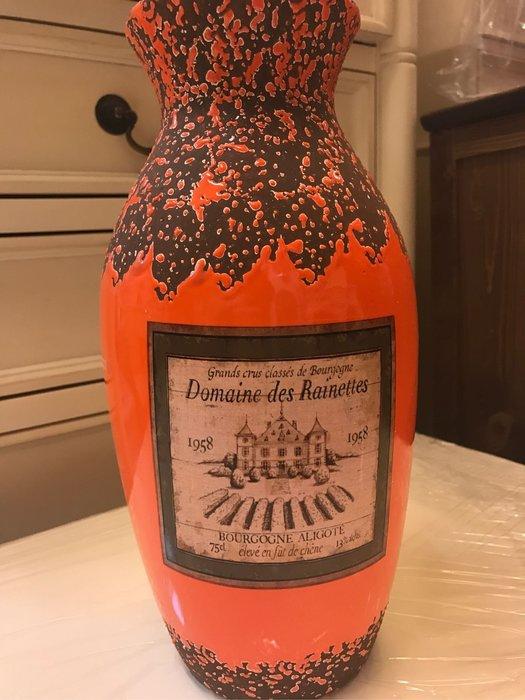 花瓶  全新裂紋漆 上釉高溫陶 圓型 花瓶/花器