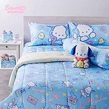 泰國限量 PC狗 床單 枕頭套 枕套 攬枕套 床上用品組 床單set - 特大雙人(King)