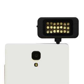 手機/平板專用21顆LED補光燈攝影燈 拍照打光補光