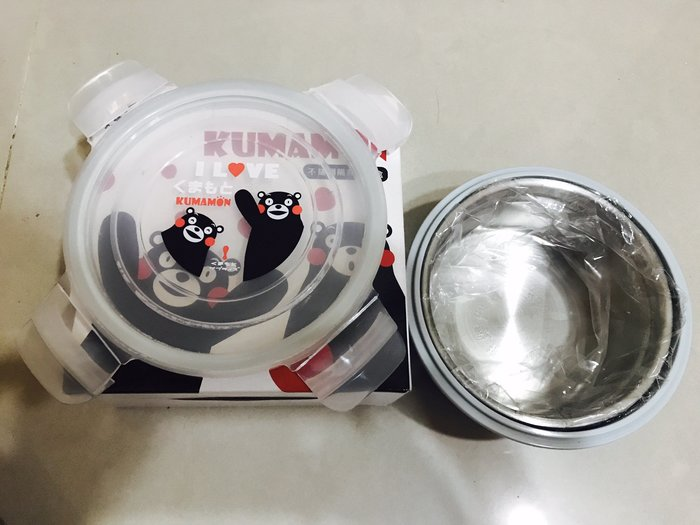KUMAMON  不銹鋼隔熱便當餐盒