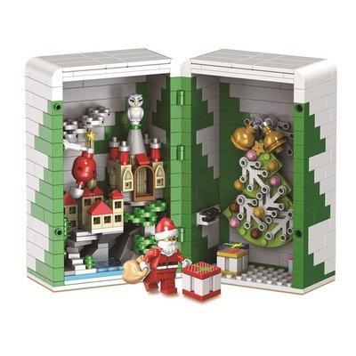 小頑童 LEGO 樂高式 衛樂 5037 聖誕禮物盒 麋鹿 雪橇 交換禮物 新款 現貨! 特價!
