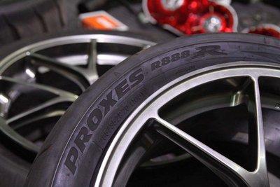 二手部品 Nissan R35 GTR GT-R  BBS RI-D 配Toyo R888r 9成新胎皮 255-40-20/285-35-20