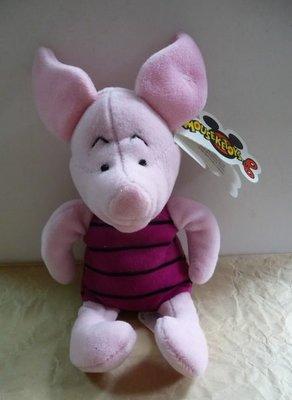 Disney 迪士尼 Pooh 小熊維尼 小豬Piglet 玩偶