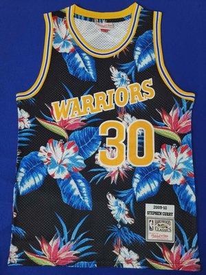 史蒂芬·柯瑞(Stephen Curry)NBA勇士隊 30號 花卉时尚版