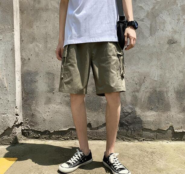韓系男士休閒寬鬆運動短褲五分褲 C243