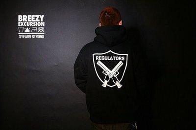 Cover Taiwan 官方直營 BREEZY EXCURSION 突擊者Raiders 嘻哈 帽t 連帽t 刷毛 黑
