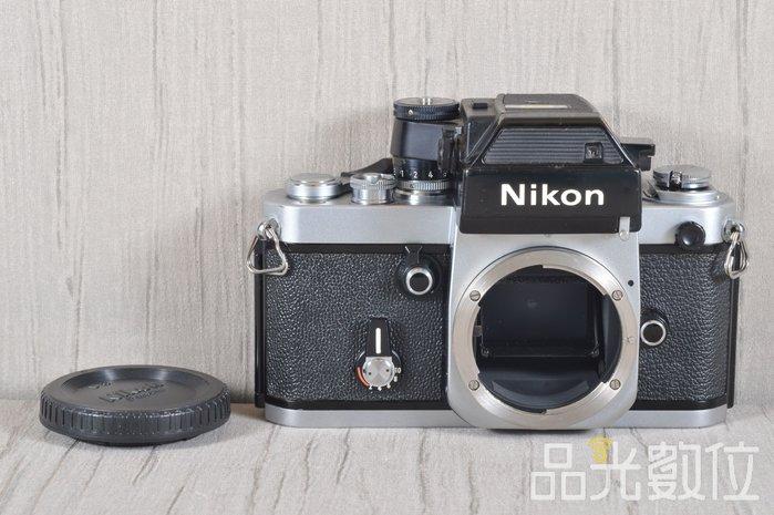 【品光攝影】Nikon F2A Body 單機身 經典機械式底片機 銀機 #33545J