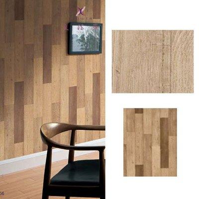 【夏法羅 窗藝】日本進口 仿建材 仿木材 仿木紋 低調質感壁紙 AE-075266