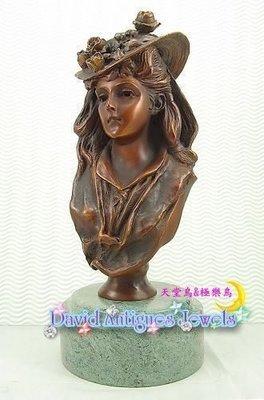 ((天堂鳥)) 典型ART NOUVEAU銅雕