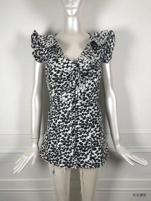 [我是寶琪] TED BAKER 黑白印花短洋裝