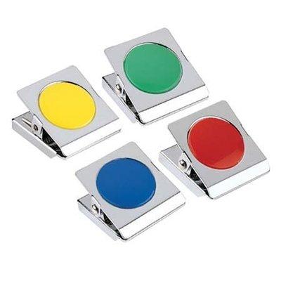三燕 COX MS-500 彩色磁夾【圓型膠片】好好逛文具小舖