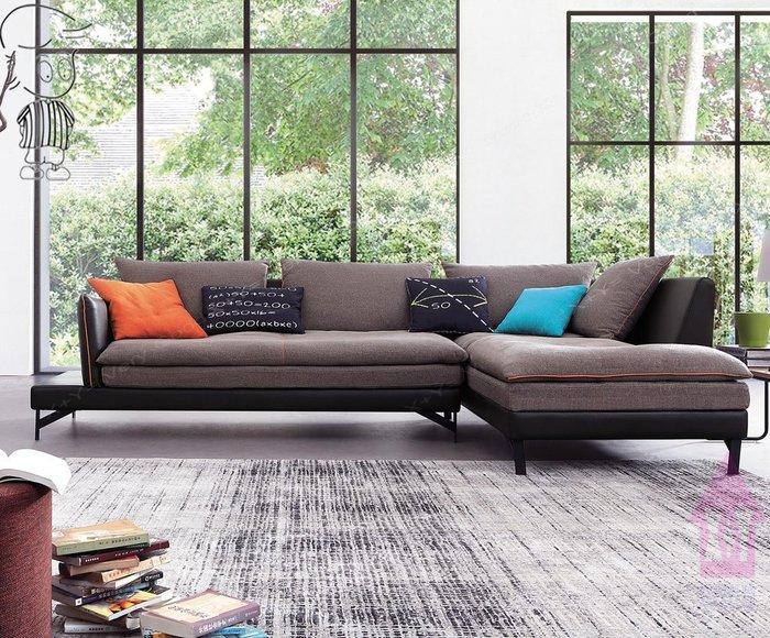 【X+Y時尚精品傢俱】現代沙發組椅系列-奧拉 L型布沙發.布套可拆洗.透氣皮骨架.摩登家具