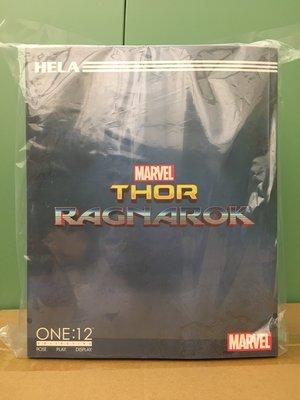 全新正版Mezco One:12 Thor Ragnarok Hela DC Marvel Legends SHF Mafex Neca Select