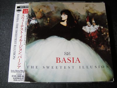 【198樂坊】Basia貝莎The Sweetest Illusion(Yearning......日版)BR