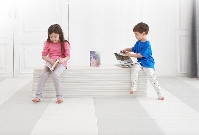 韓國預購 mom&maum 四摺 四折  摺疊遊戲墊160*120*4 嬰兒爬行墊 幼兒遊戲墊 摺疊地墊 高CP值
